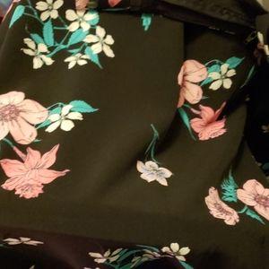Lane Bryant floral dress pants